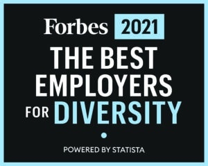 Forbes 2021 The best employers for diversity