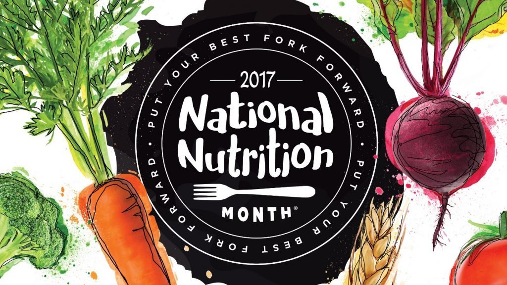 national nutrition month banner
