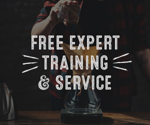 Free expert training and service