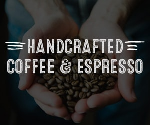 handcrafted coffee and espresso