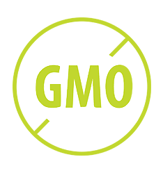 non-GMO icon with transparent background