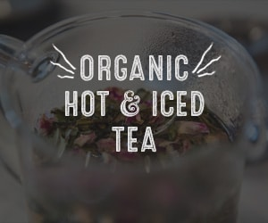 organic hot and iced tea