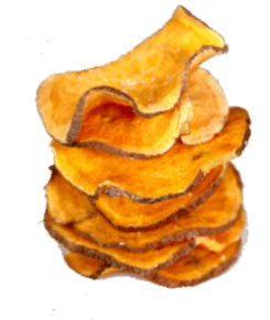 image of sweet potato chips